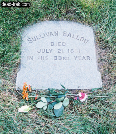 sullivan ballous letter to his wife Sullivan ballou was a successful, 32-year-old attorney in providence, rhode island, when abraham lincoln called for volunteers in the wake of fort sumter responding to his nation's call, the former speaker of the rhode island house of representatives enlisted in the 2nd rhode island infantry, where.